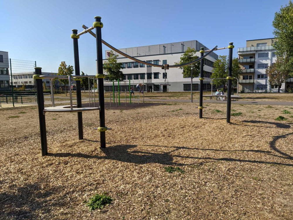 Spielplatz Bürgerpark Justizzentrum