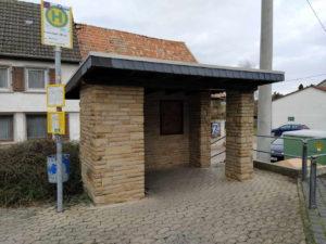 Bushaltestellen in Bosenheim