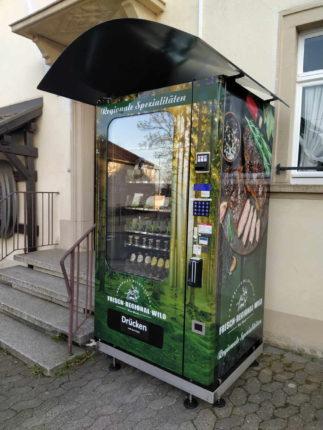 Verkaufsautomat für Fleisch & Bier