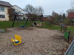 Spielplatz im Klostergarten in Pfaffen-Schwabenheim