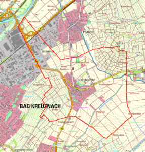 Bosenheim Gemarkungsgrenze