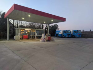 Tankstelle in Bosenheim